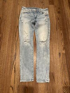 American Eagle Mens Jeans 32 X 34 Next Leavel Airflex Slim/skinny Denim