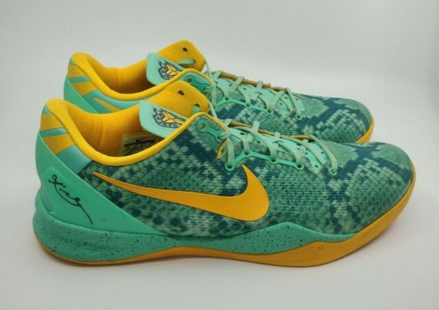 new products new cheap sneakers Nike Kobe 8 System Puprle Dynasty Green Glow Raspberry Size 13 for ...