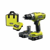 Ryobi Llcdi18022 One+ Cordless Drill C/w 2 X 18v 1.3 A Batteries & Charger