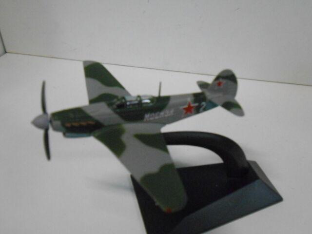 YAKOVLEV YAK-9 FRANCK II WW LEGENDARY AIRPLANE DEAGOSTINI 1/90
