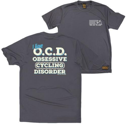 FB Cycling Tee Ocd Cycling Novelty Birthday Dry Fit Performance T-Shirt