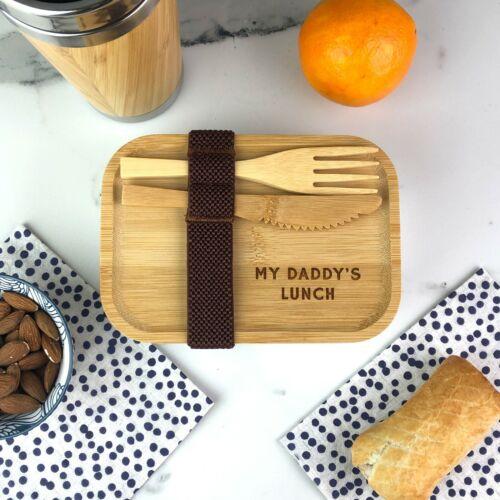 Personnalisé De Bambou Sandwich Lunch Box Kids School Metal Food Container travaux