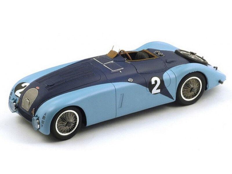 Spark Model 1 43 43LM37 Bugatti 57G  2 Winner Le Mans 1937 Wimille Benoist NEW