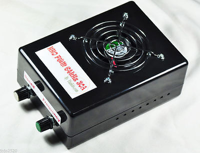 HHO 64kHz PWM DC Motor Speed Control 30A Max + Soft Start [Box/Fan ready to use]