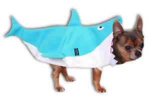 Shark-Pet-Costumes-Sealife-Dog-Cat-Outfit