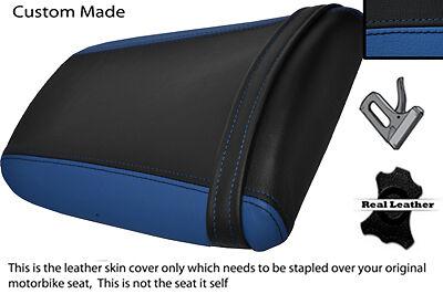 BLACK /& ROYAL BLUE CUSTOM FITS HONDA CBR 1000 RR 04-07 SEAT COVER REAR