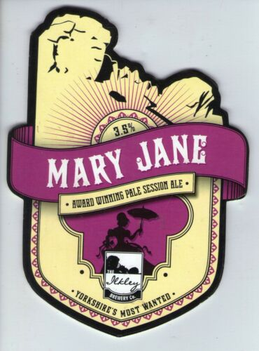 2 - PUMP CLIP FRONT MARY JANE ILKLEY BREWERY