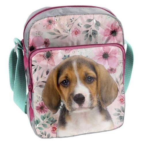 Enfants Sac à bandoulière Jardin d/'enfants-sac chien Fleurs Enfants Sac Expédition rapide
