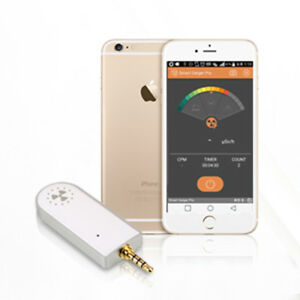 Smart Geiger SGP-001 Nuclear Radiation Detector Counter for Smartphone iOS Andro