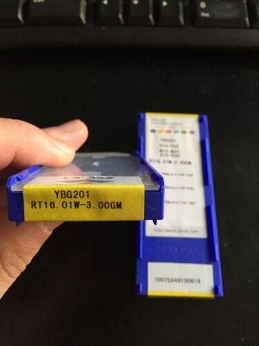 10pcs ZCC.CT RT16.01W-3.00GM YBG201