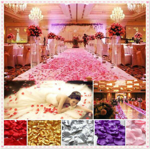 1000X-Lot-Silk-Rose-Flower-Petals-Leaves-Bridal-Wedding-Party-Table-Decoration