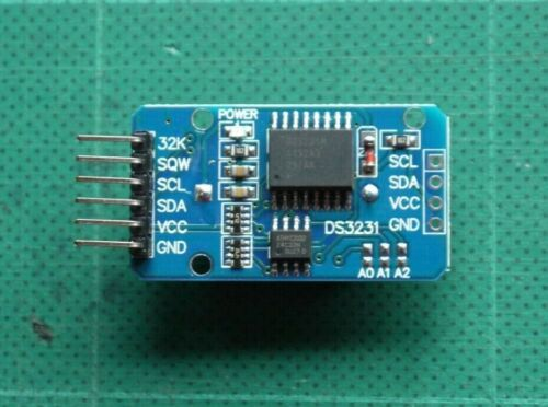 DS3231 RTC Module with EEPROM puce I2C IIC Horloge temps réel Arduino NodeMCU