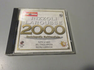 Encyclopedia Multimedia Rizzoli Larousse - 2000 Vol. 6 - I CD ROM Of Panorama