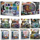 4D Beyblade Metal Masters Fusion Top Fight Rotate Grip Launcher Battle Set Hot