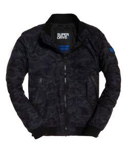 Jacken & Mäntel ZuverläSsig Mens Superdry Microfibre Solstice Jacket Coat Rrp £95 Herrenmode