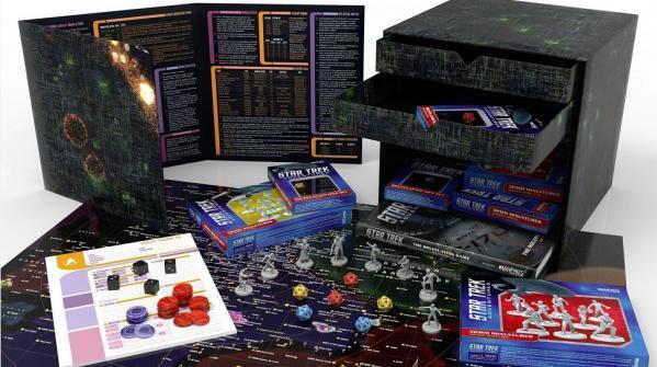 Star Trek Adventures RPG MUH051078 Borg Cube Cube Cube Collector's Edition Box Modiphius de1515