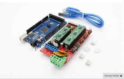 New 3D Printer Kit Mega 2560 + RAMPS 1.4 + 5X A4988 For Arduino