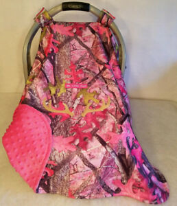 Image Is Loading Car Seat Canopy Cover Up Sassy Girl Pink