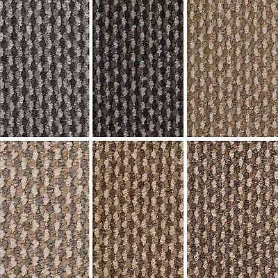 Cheap Berber Loop Carpet Hardwearing Felt Backing Bedroom