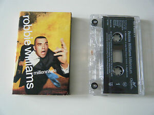 ROBBIE-WILLIAMS-MILLENNIUM-CASSETTE-TAPE-SINGLE-CHRYSALIS-UK-1998