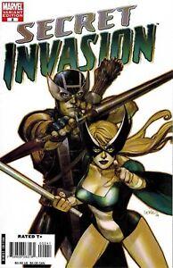 SECRET INVASION #2 YU RETAIL VARIANT 1:50 NM MARVEL COMICS HAWKEYE AVENGERS