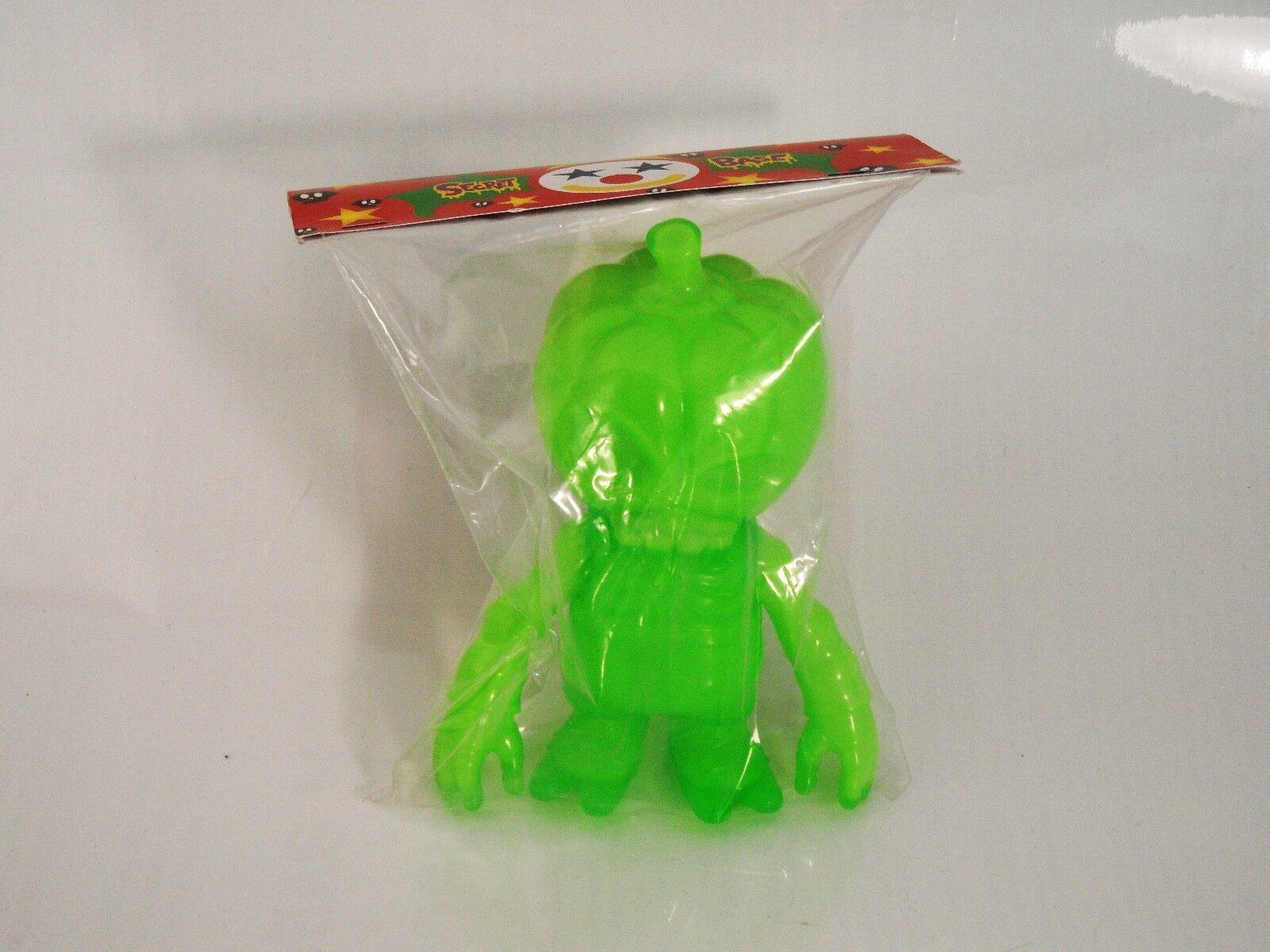 Secret Base Kaiju death pumpkin 2007 GID glow in dark TLL NIP sofubi