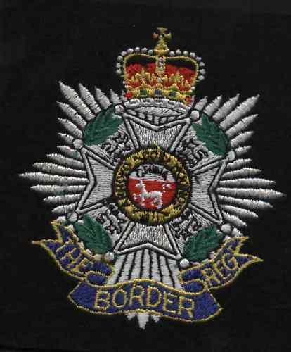 New Lancashire Embroidery Border Regiment