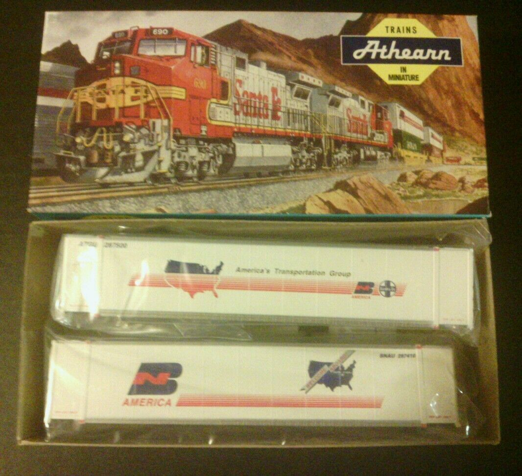 Athearn Train Americas Transportation Group 48' Veroson 2 Ho Scale RARE