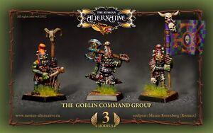 Goblin Command Group RESIN