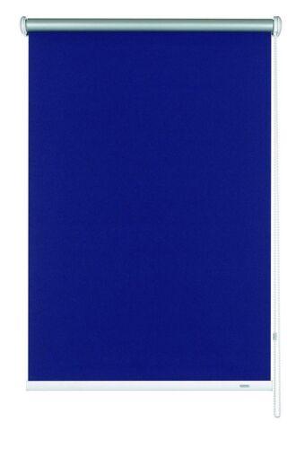 Seitenzug Rollo 162x180cm Marineblau Thermorückseite Verdunkelungsrollo Gardinia