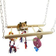 NEW Suspension Bridge Toy For Squirrel Hamsters Gerbils Mice Pet Cage Accessory
