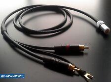Canare starquad tonearm cable - for Linn, SME, Roksan etc - 24AWG