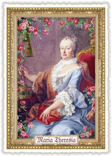 "Edition Tausendschön /""Maria Theresia/"" PK464 Postkarte Sammelkarte Grußkarte"