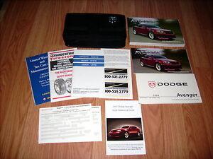 2008 dodge avenger owners manual 03269 ebay rh ebay com dodge avenger 2008 owners manual online dodge avenger 2008 owners manual pdf