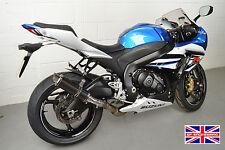 Suzuki GSXR1000 12-16 L2-L6 SP Engineering Carbon Fibre Stubby Moto GP Exhaust