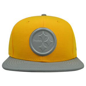 Image is loading Pittsburgh-Steelers-GLEAMER-3M-Reflective-Snapback -9Fifty-New- b767e8409