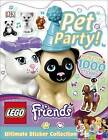 LEGO Friends Pet Party! Ultimate Sticker Collection by Helen Murray, DK (Paperback, 2016)