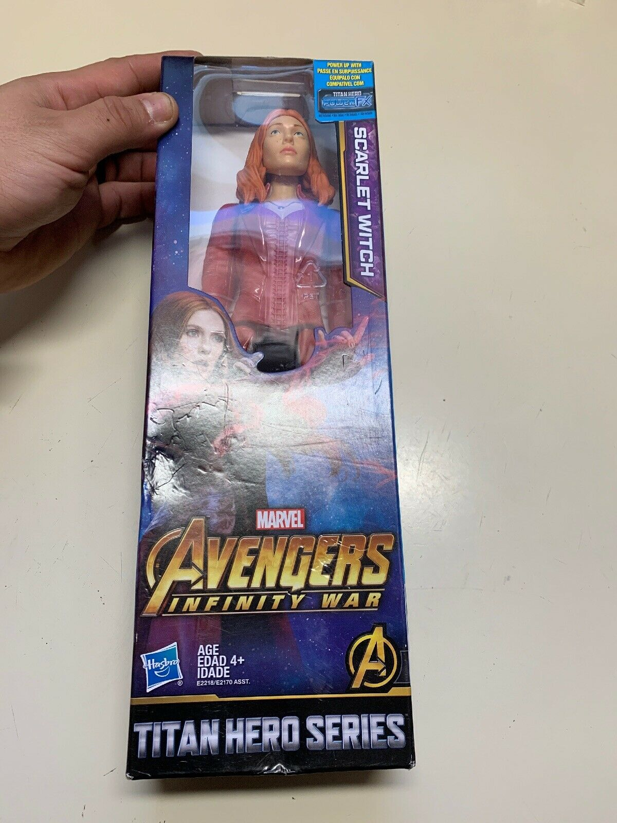 Marvel Super Hero Squad Rare SCARLET WITCH de WAVE 18 Avengers Issue
