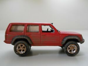 Lifted Jeep Cherokee >> Details About Johnny Lightning Off Road Dirty Lifted Jeep Cherokee 1 64 Diecast Loose
