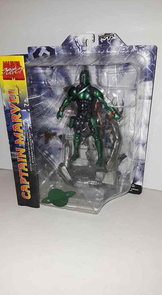 MARVEL SELECT CAPTAIN MARVEL KREE VARIANT FIGURE RARE