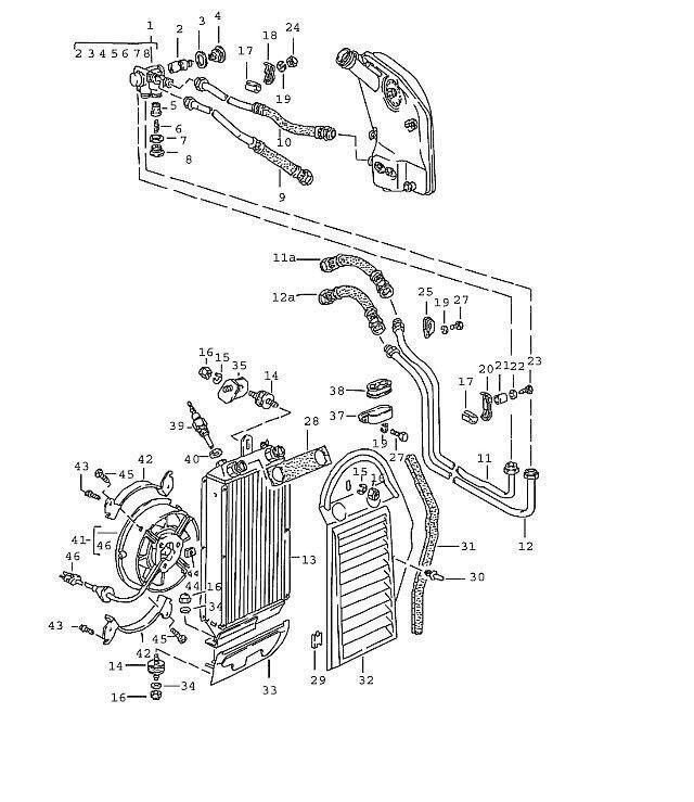 Bosch Oil Cooling Fan For Porsche 911 1984 1989 91162412100 For