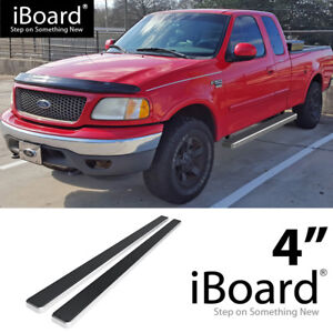 Details About 4 Eboard Running Boards Fit Ford F150f250 Light Duty Super Cab 99 03
