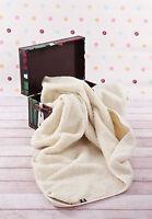 Sale Woolamrked 100% Australian Merino Wool King Ecru Blanket 200 X 200cm