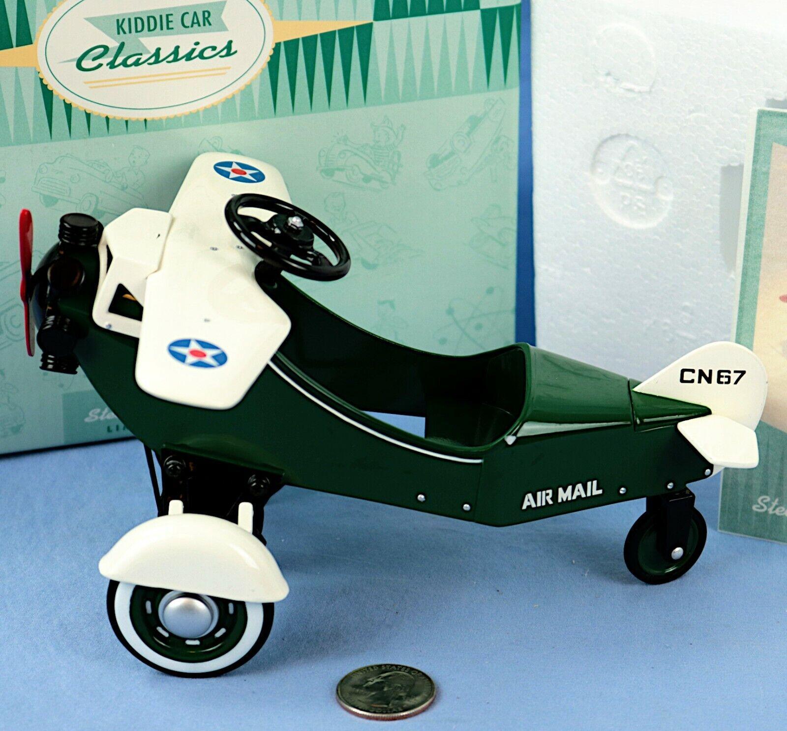 Hallmark Kiddie Car Classics Replica 1935 Murray Steelcraft Airplane 4