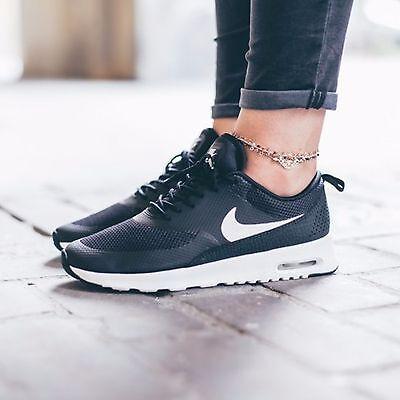 a8337bf5a2e Nike Women's Size 8 Air Max Thea Black Summit White 599409-020   eBay