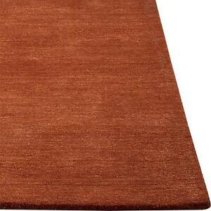 Area Rugs 5' x 8' Baxter Marigold Hand Tufted Crate & Barrel Woolen Carpet