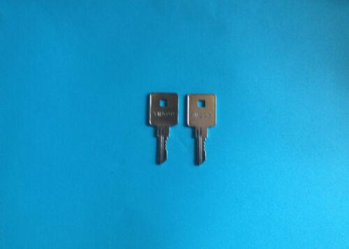 2 Trimark Motorhome Precut Code Key DR500 Travel Trailer,Camper,RV Lock Keys