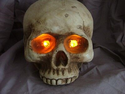 ORANGE  LED EYES HALLOWEEN PROP PROPS WITH ON OFF SWITCH