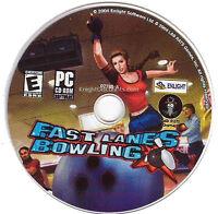 Fast Lanes Bowling Windows Classic Bowling Simulation Enlight Pc Game Cdrom