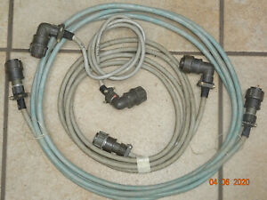 Sonderangebot-Kabelset-7-polig-Buchsen-3-Stueck-RFT-Funkwerk-Koepenick